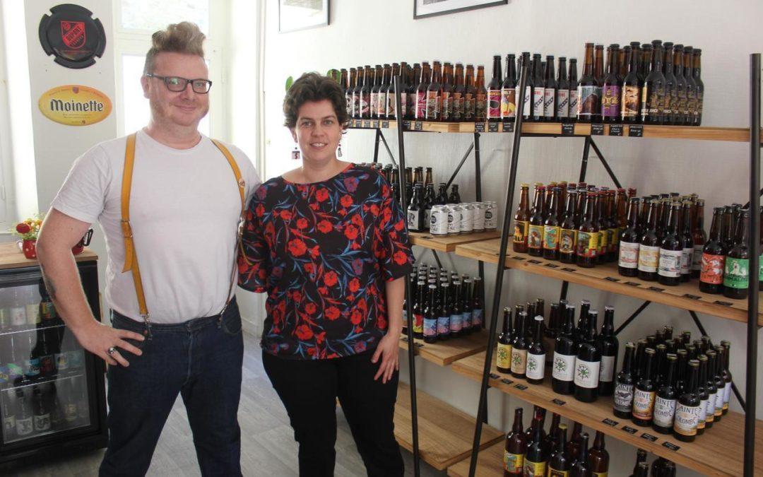Commerce. A Dinan, une cave à bières ouvre Rue de la Chaux