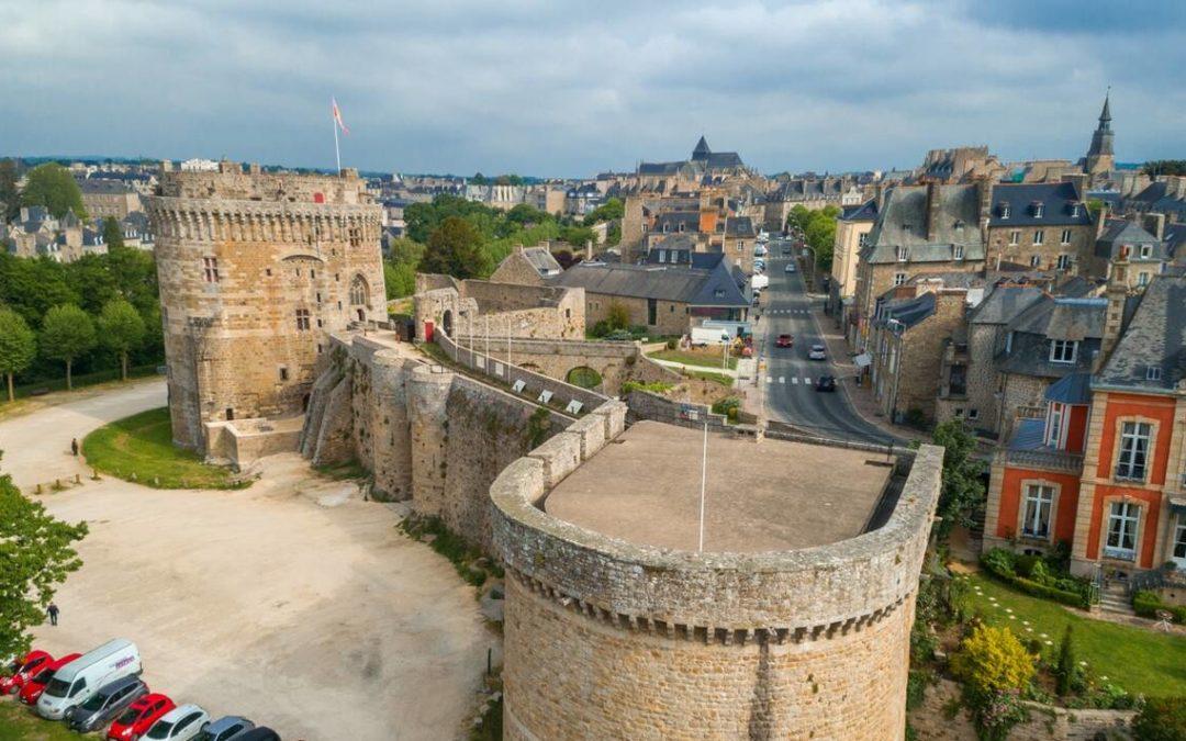 Le château de Dinan, un monument emblématique de la ville